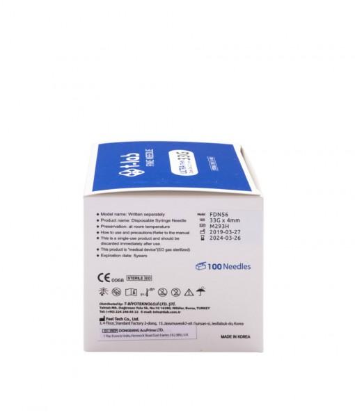 Fine Needle 33G x 4mm